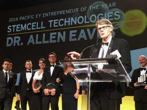 Dr. Allen Eaves, Stemcell Technologies | Entrepreneur of the Year